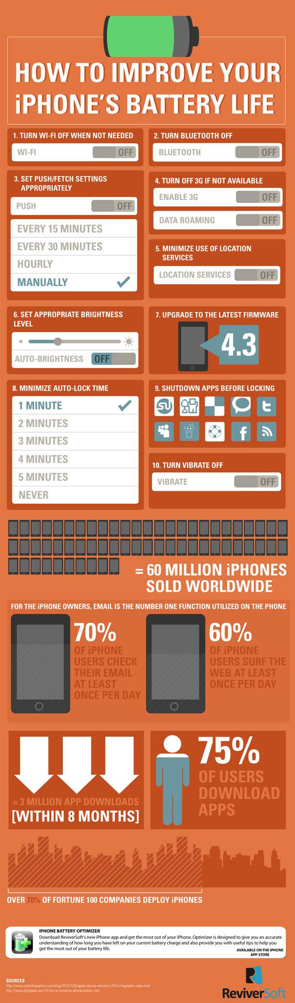 Cómo mejorar y optimizar la duración de la batería de tu iPhone